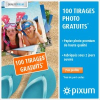 Photographe ou pas … 100 tirages photo gratuits …