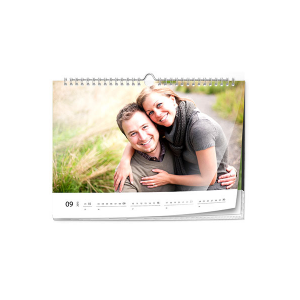 Calendrier photo mural A4 format paysage (PIXUM)